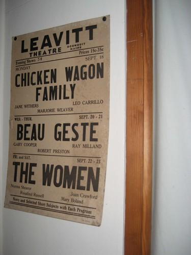 Leavitt Theatre Ogunquit ME Vintage Poster 1939