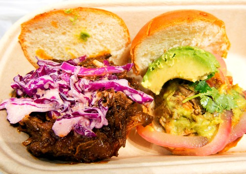 BBQ Brisket & Pulled Pork Sliders @ Mexicue