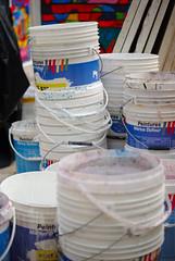 Pots de peinture
