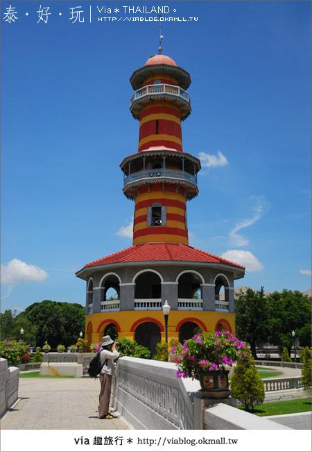 【泰國旅遊】大城之旅|泰皇的渡假聖堂~芭茵夏宮39