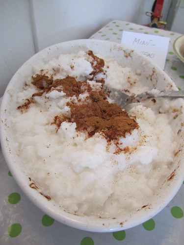 Coconut Rice with Cinnamon