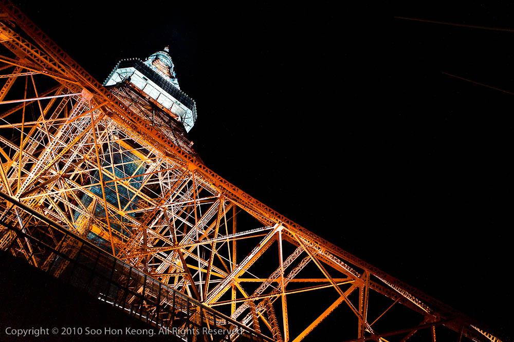 Tokyo Tower @ Tokyo, Japan