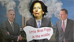 Julia Gillard as Little Miss Piggy