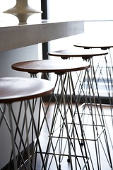 House Fresnay - Weightless Round Kitchen Stools, Designed By Haldane Martin, Photo Micky Hoyle