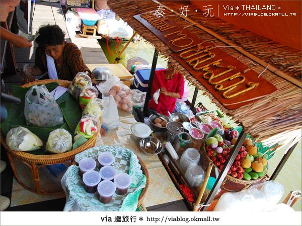 【泰國小吃】泰好吃~大城水上市場美味小吃呷通海!13