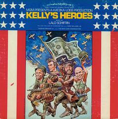 Kelly's Heroes (Jim Ed Blanchard) Tags: film movie graphicdesign album lp record soundtrack clinteastwood donaldsutherland jackdavis tellysavalas laloschifrin hankwilliamsjr kellysheroes mikecurb