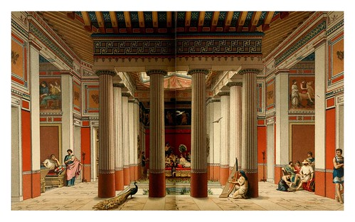 001- casa noble ateniense -Geschichte des kostüms in chronologischer entwicklung 1888- A. Racinet