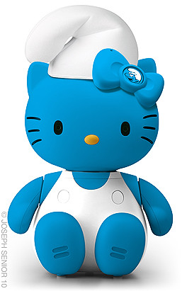 Hello Smurfy Kitty