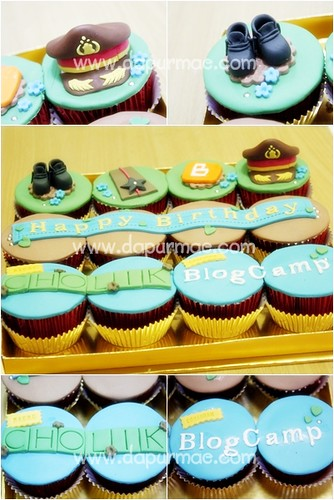 Army & Blogger Cupcakes