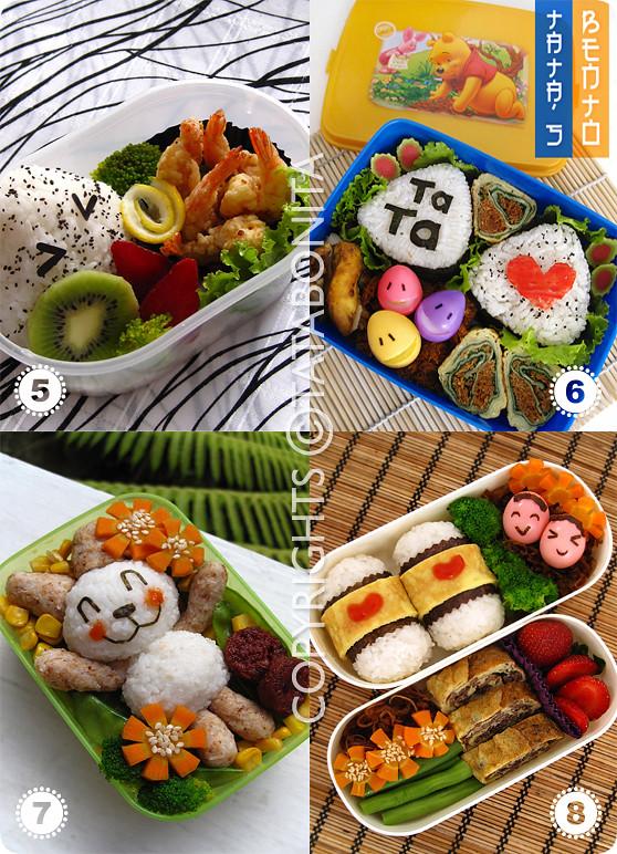 Molded Rice Bento 2