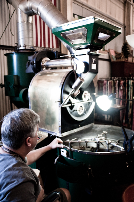 I had no idea coffee roasting was so steampunk.