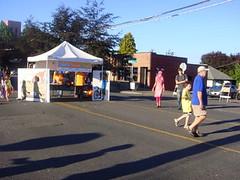 SDOT info booth (Seattle Department of Transportation) Tags: seattle sdot summerstreets carfreedays greenwood rainier parade artwalk pedestrians peds fun august possibilities people