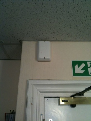 AMCO London office alarm box