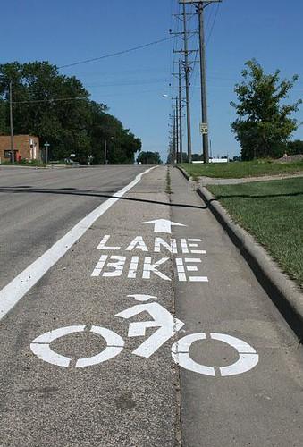 Pipestone Bike Lane