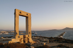 Portara - Naxos - 1 (Ben Heine) Tags: ocean door trip travel sunset sea summer wallpaper mist mountains hot history monument silhouette fog stone architecture composition relax fire photography gold freedom golden evening solar holidays warm heaven waves geometry pierre horizon hill illumination greece enjoy porte imaging unreal past difice rectangle mythology grce zon brightness aura cyclades feu backlighting coucherdesoleil vibration antiquity waterscape ignite clart apollon vestige chaleur aegeansea portara theartistery marblegate benheine quietsea naxosport enflame mer samsungnx10 ege geologicalcaldera islandofpalatia tyrantlygdamis