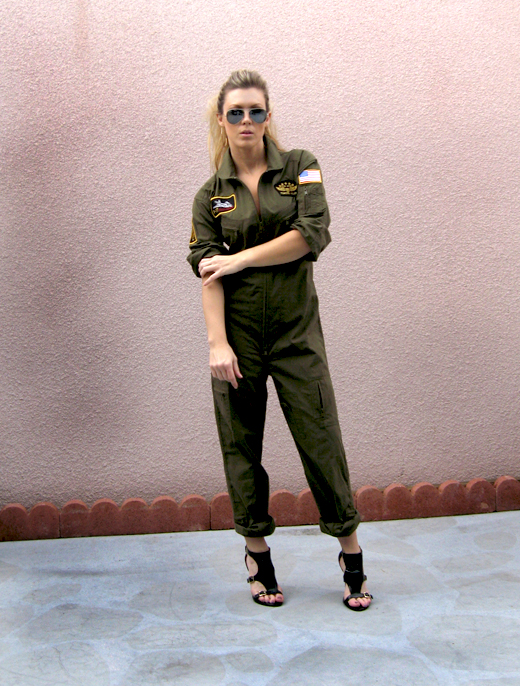 Top Gun Flight Suit Love  7de8d07c2