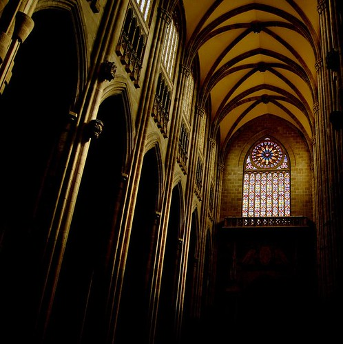 Vidriera en La Catedral