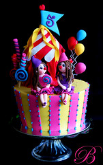 The Circus has arrived! (Bella Cupcakes (Vanessa Iti)) Tags: birthday cupcakes circus bella clowns 5th lollipops cupcaketower supertop wwwbellacupcakesconz
