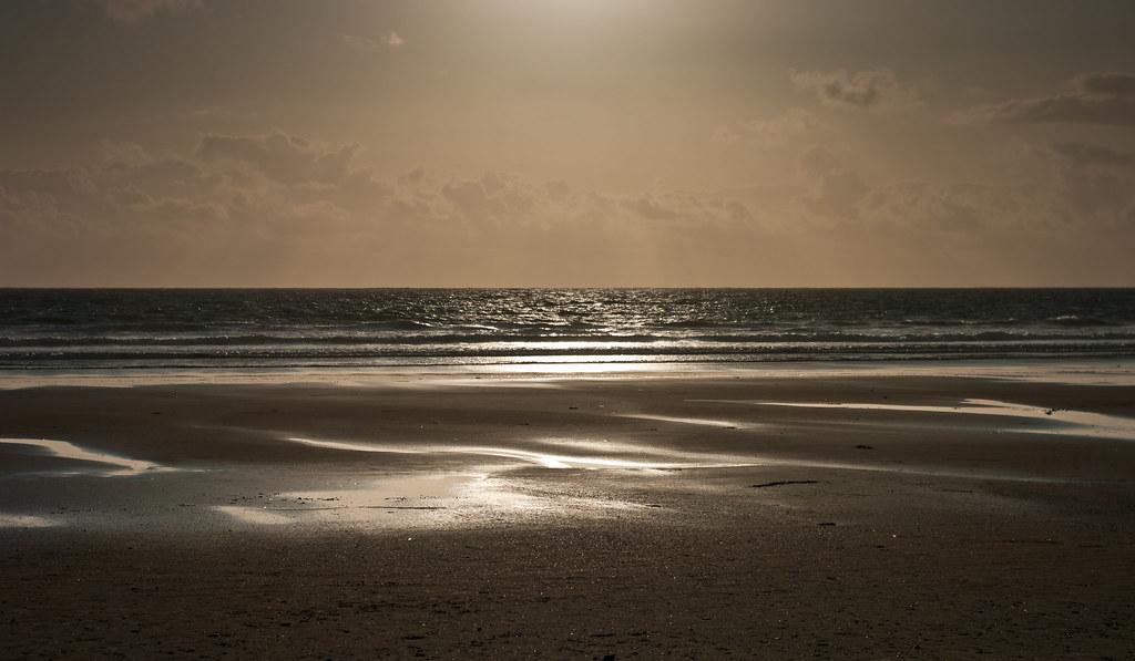 Banna Beach at Sunset