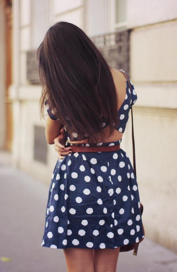 polka dots dress 04