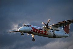 Thank You Sun!! (James Chevrier) Tags: light canada storm weather clouds air ottawa low active dash8
