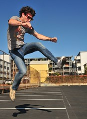 (Alex Merenkov photography) Tags: shirtless sky jumping action indie maleform afsdxvrzoomnikkor18200mmf3556gifedjoey cutestraightguy