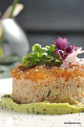 Crab Salad with Avocado and Bisque Jelly_02
