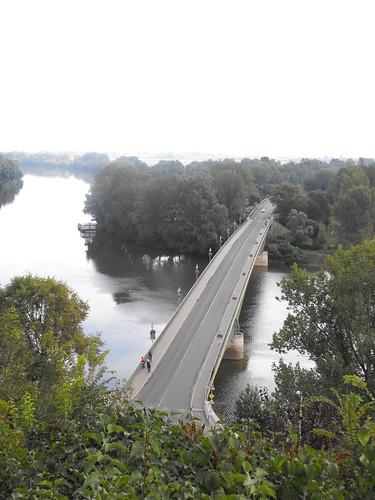 Elisabeth-Brücke in Tokaj