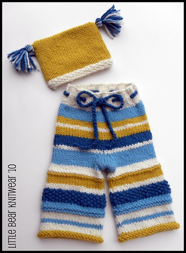 a {fresh} new baby Silly Stripes� set