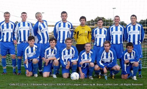 Cliffe FC U21s 3 - 3 Bricknell Rangers U21s 1Sept10