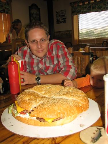 the big damburger - flaming gorge