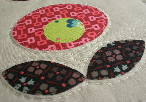 Pop Flower Quilt - detail