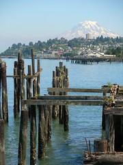 tacoma dock (vinsanity2009) Tags: seattle dock waterfront rainier tacoma