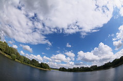 Curvature (kh1234567890) Tags: england sky water clouds manchester pentax unitedkingdom horizon fisheye curved gorton k7 debdalepark 1017mm smcpdafisheye1017mmf3545edif smcpentaxda1017mmf3545fisheyeedif