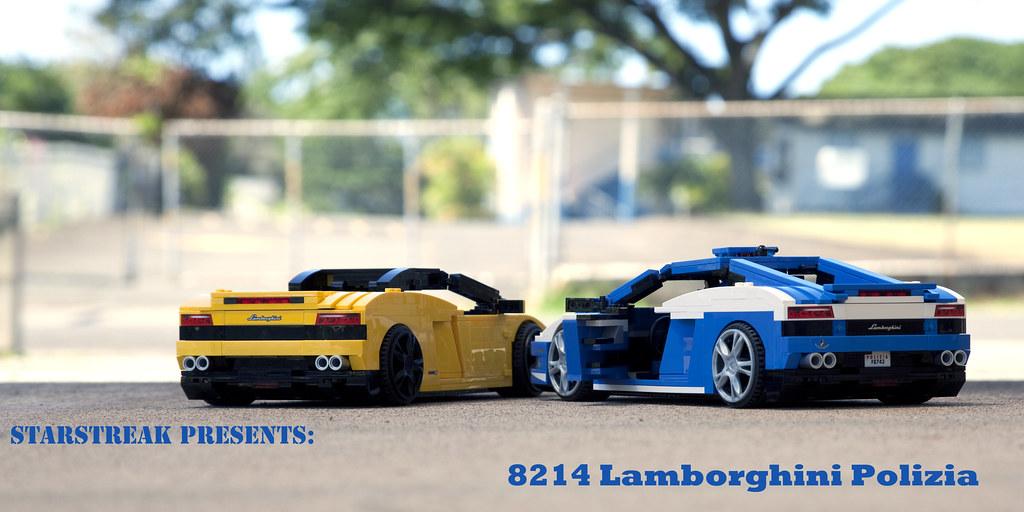 Review 8214 Lamborghini Polizia Lego Licensed Eurobricks Forums