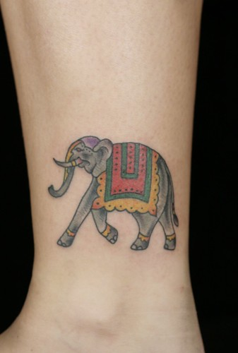 The Elephant Is A Symbol Of Wisdom Only You Tattoo