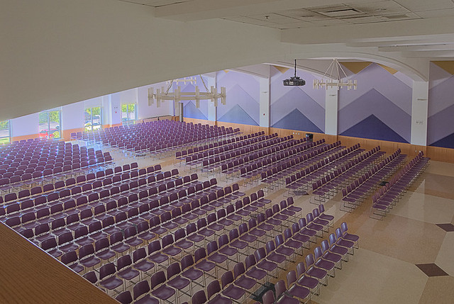 Christian Brothers College High School, in Town and Country, Missouri, USA - auditorium