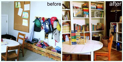 Playroom: Before and After
