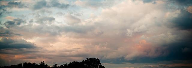 080910_ Evening Sky Panorama