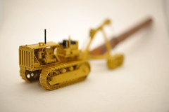 50's Cat D8 w/Hyster Winch and  Tracked  Log Arch 1/50th  diecast  metal  by EMD in Kit form (ejwag777) Tags: metal cat woods forestry logging d8 50s kit diecast emd skidder 150th hysterwinch skidlogs hystertrackedlogarch