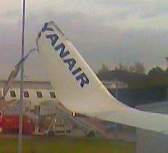 Accidente Ryanair
