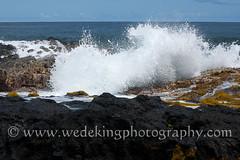 hawaii-waves-rocks-0271 (wedekingphotography) Tags: ocean water rock hawaii lava bigisland crashingwave