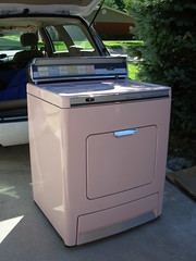 1959 Lady Kenmore dryer after cleaning 02
