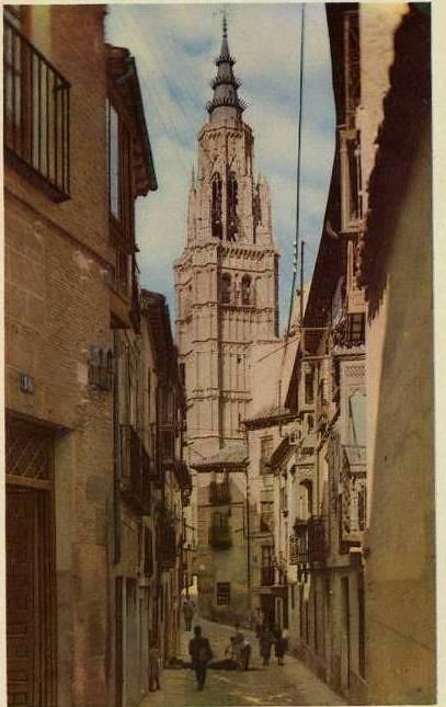Calle de Santa Isabel a mediados del siglo XX