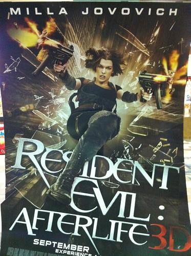 "In my best Capcom video game voice: ""Resident Eeeeeeevil."""