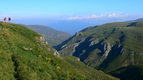 Gorge of Duškaj brook in Šar mountains (Шар-планина, Malet e Sharrit)