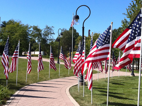 Photo365 Day 246: Flag Walk