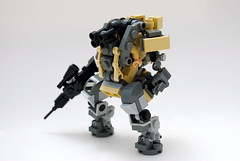 Desert Suit (Ironsniper) Tags: war gun desert suit mecha posable hardsuit
