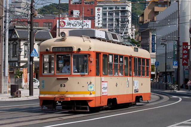 伊予鉄道市内電車モハ50形53号
