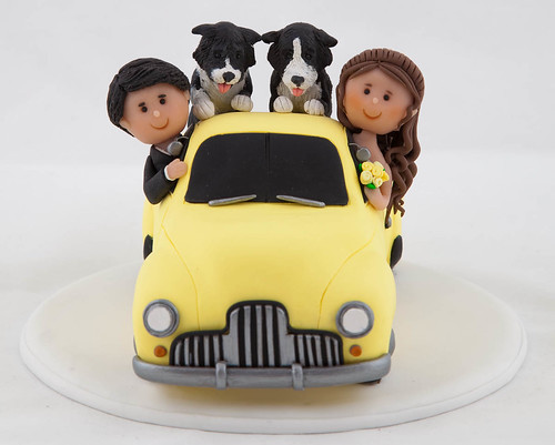 Ute Wedding Cake Topper